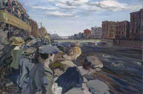 """The Liffey Swim (1923) - Yeats"