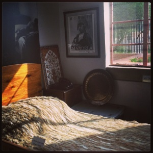 Inside the Mandela house, 8115 Vilakazi Street.