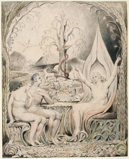 "William Blake: Illustrations to Milton's ""Paradise Lost"""