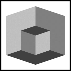 Box illusion cube